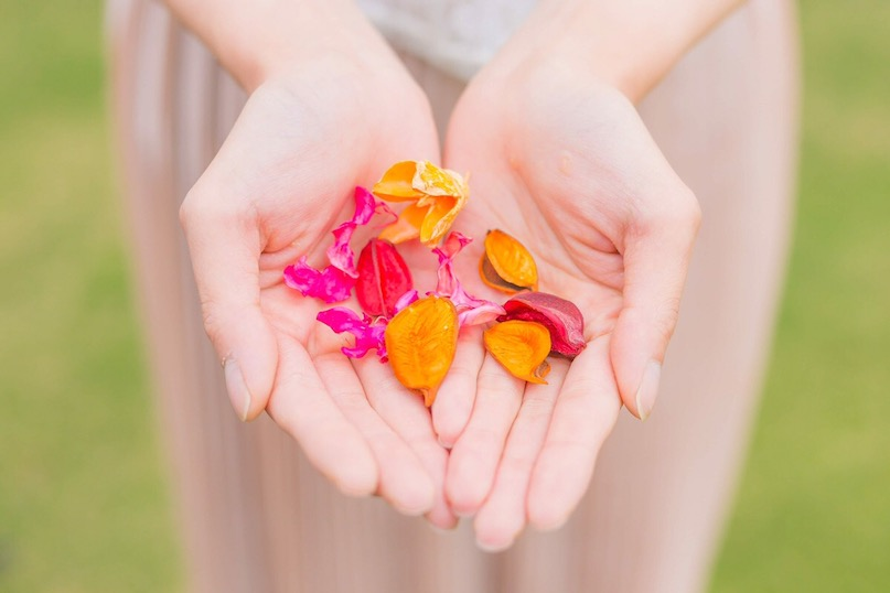 わたしの手のひらから幸せの輪を広げていきたい